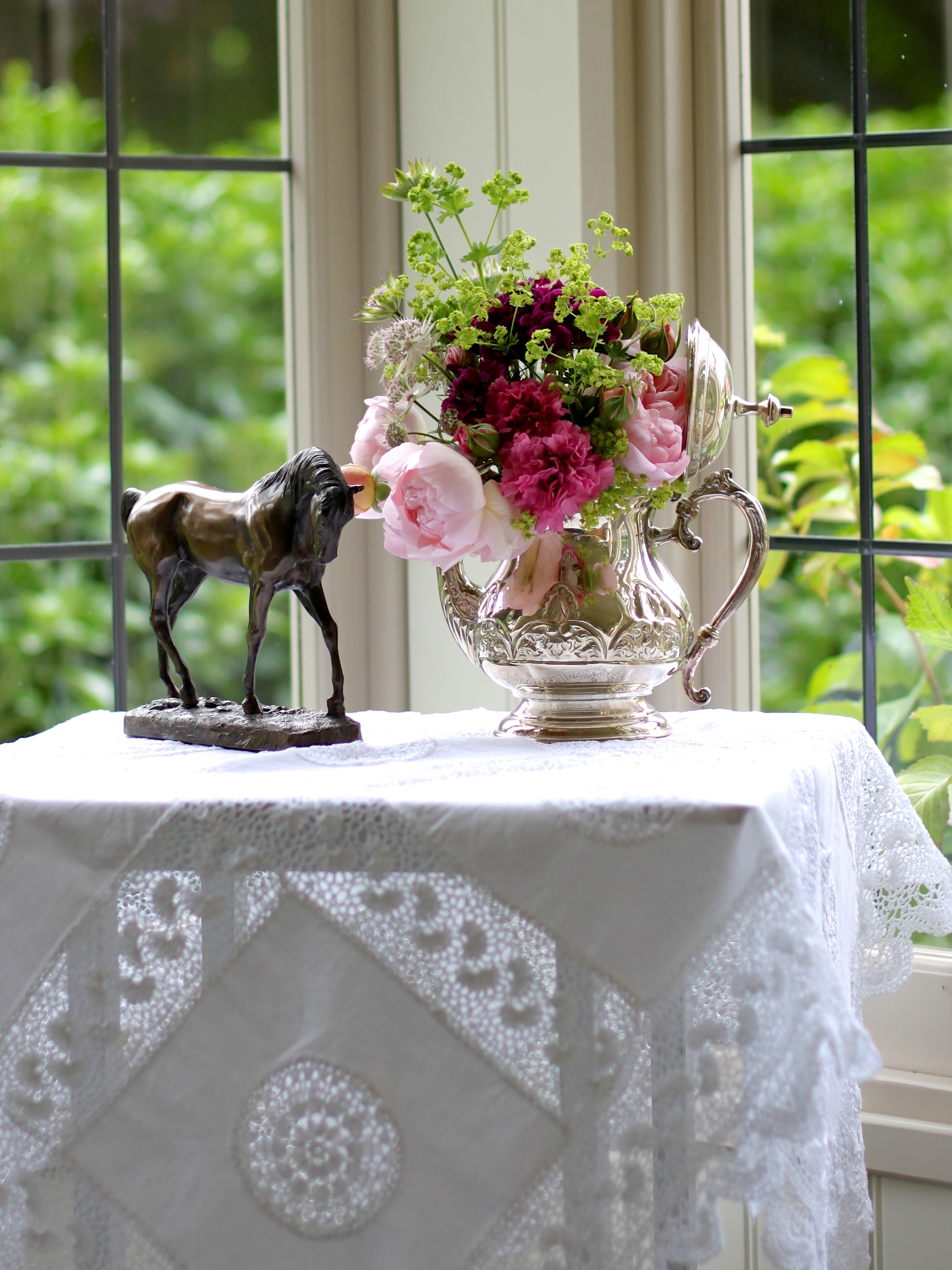 In A Vase On Monday Or In A Silver Teapot Peonies Amp Posies