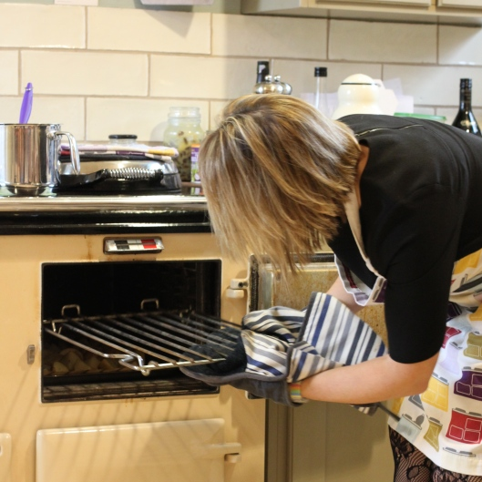 AGA-Cooking